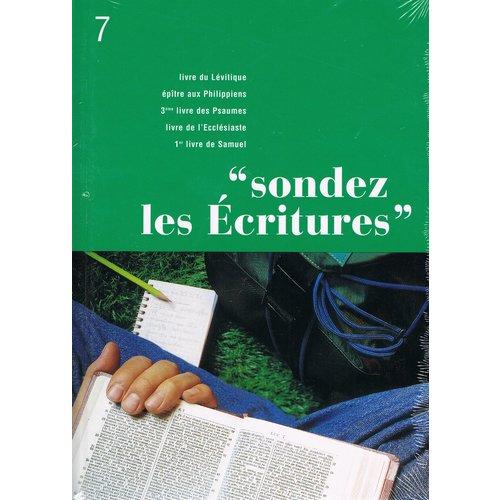 Sondez les Ecritures 7
