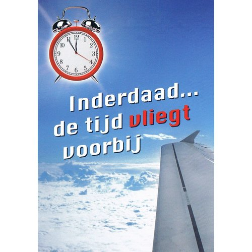 Traktaat: Inderdaad ... de tijd vliegt voorbij