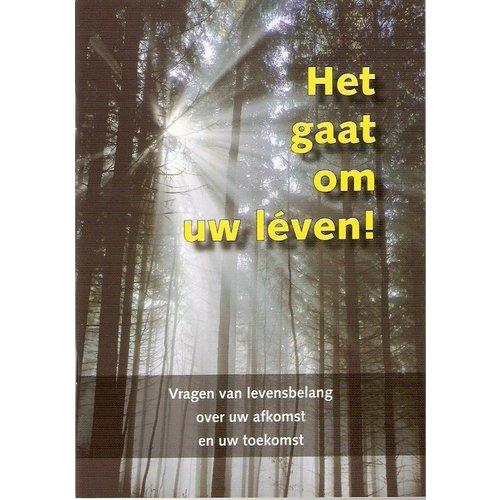 Het gaat om uw leven, evangelisatie-brochure