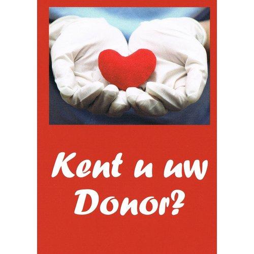 Traktaat: Kent u uw Donor?