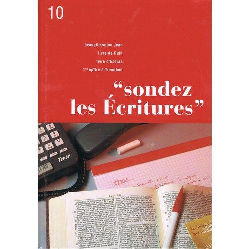 Sondez les Ecritures 10