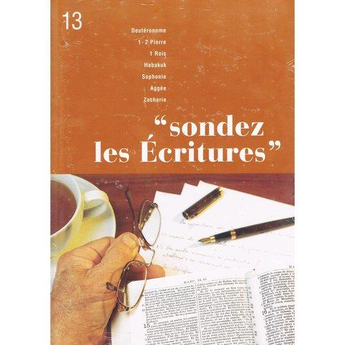 Sondez les Ecritures 13