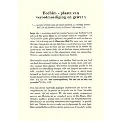 Bochim, plaats van verootmoediging en geween