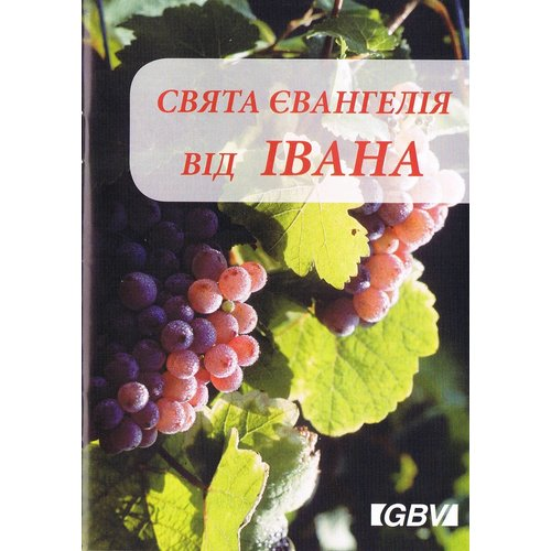 TIJDELIJK UITVERKOCHT Oekraïns : Evangelie naar Johannes