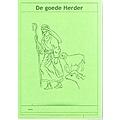 Notitieblok A6 'De goede Herder'.