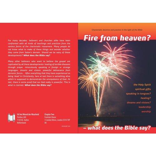 Fire from heaven?