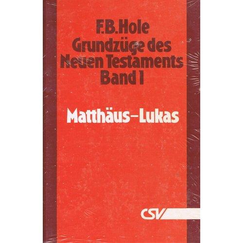 Grundzüge des Neuen Testaments, Band 1, Matthäus - Lukas