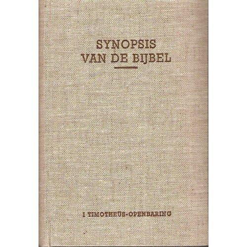 Synopsis, VIII (1 Timotheüs-Openbaring)