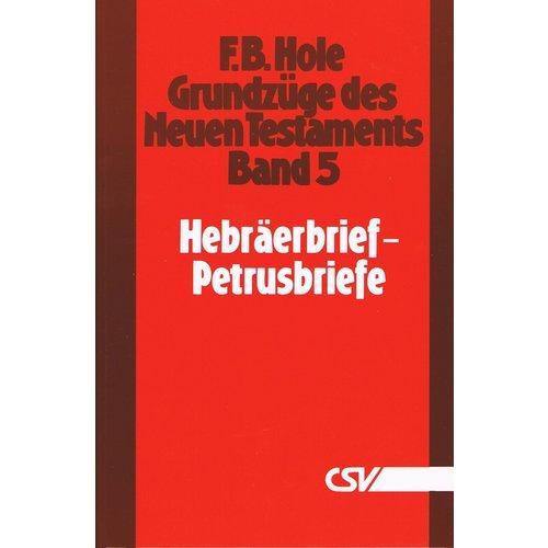 Grundzüge des Neuen Testaments, Band 5, Hebraërbrief - 2. Petrusbriefe