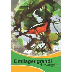 E milager grandi di evangelio / het grote nieuws van het Evangelie