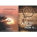 Traktaat: Als dát geen liefde is