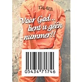 Traktaat:voor God bent u geen nummer