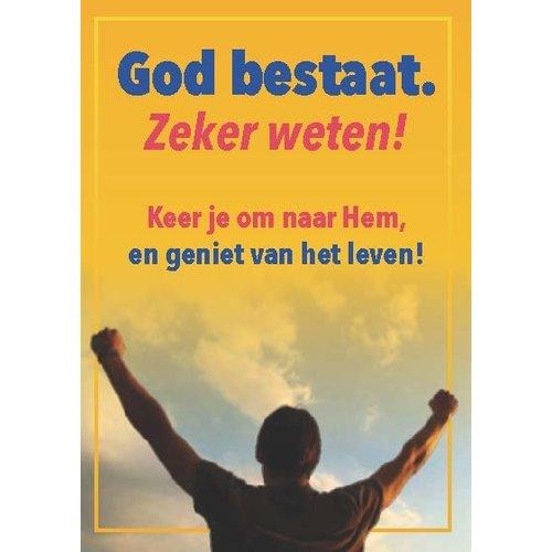 Traktaat: God bestaat. Zeker weten
