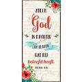 Boekenlegger: Zeker: God is machtig om te doen wat Hij beloofd heeft.