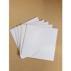 Enveloppen wit 155x155mm (per 10 stuks)