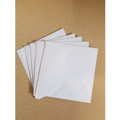 Enveloppen wit 155x155mm (per 5 stuks)