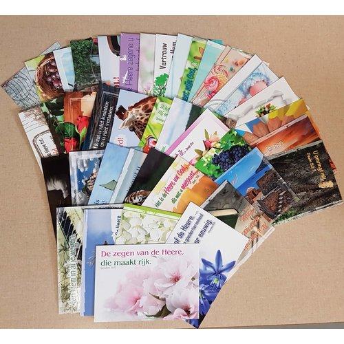 Mix-pakket A6 kaarten (17 serie)