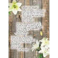 Ansichtkaart met gedicht 82-01