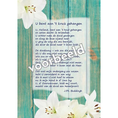 Ansichtkaart met gedicht 82-02