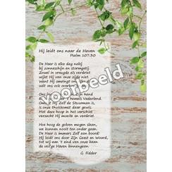 Ansichtkaart met gedicht 82-04