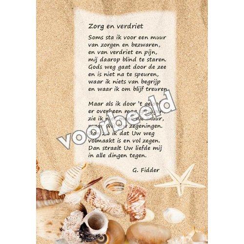 Ansichtkaart met gedicht 82-08