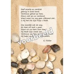 Ansichtkaart met gedicht 82-10