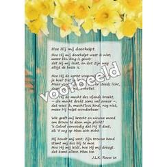 Ansichtkaart met gedicht 82-14