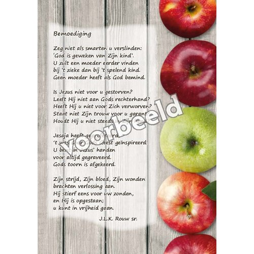 Ansichtkaart met gedicht 82-15