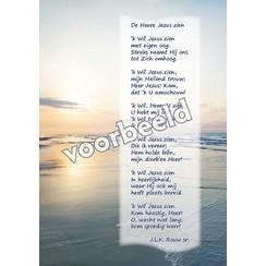Ansichtkaart met gedicht 82-16