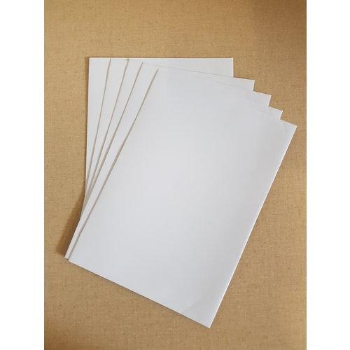 Enveloppen A5 wit en creme