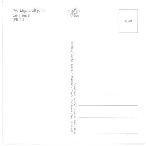 Enkelvoudige ansichtkaart 88-01