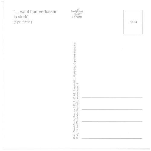 Enkelvoudige ansichtkaart 88-04