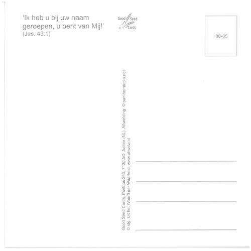 Enkelvoudige ansichtkaart 88-05
