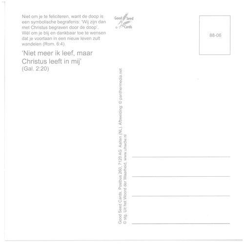 Enkelvoudige ansichtkaart 88-06