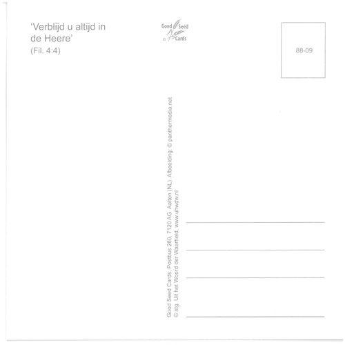 Enkelvoudige ansichtkaart 88-09