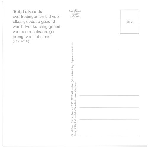 Enkelvoudige ansichtkaart 88-24