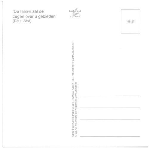 Enkelvoudige ansichtkaart 88-27