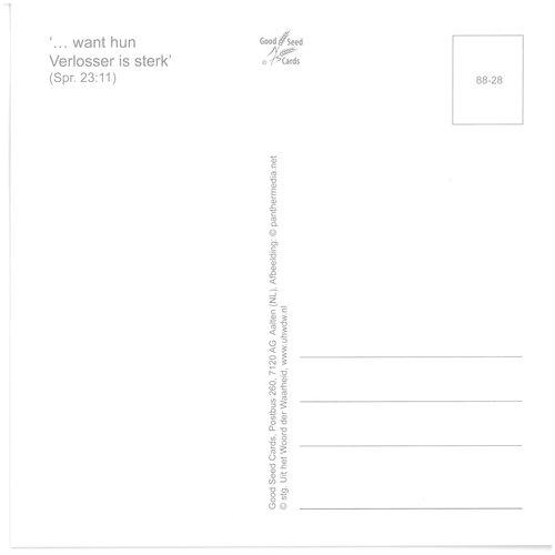 Enkelvoudige ansichtkaart 88-28
