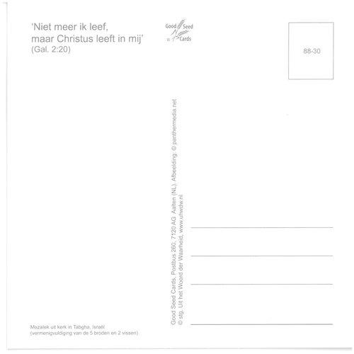 Enkelvoudige ansichtkaart 88-30