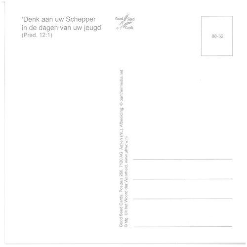 Enkelvoudige ansichtkaart 88-32