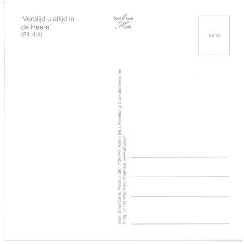 Enkelvoudige ansichtkaart 88-33