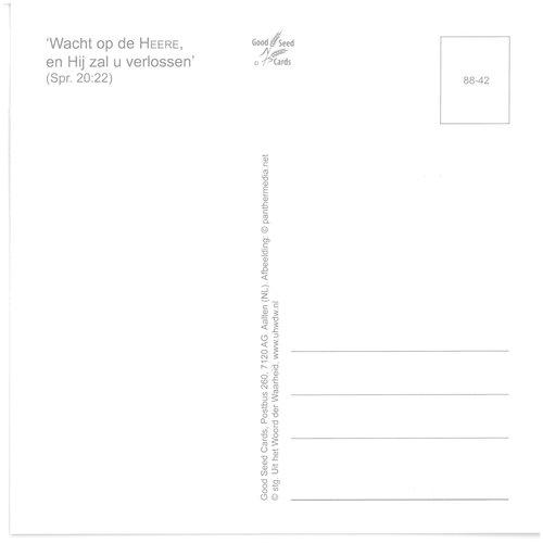 Enkelvoudige ansichtkaart 88-42