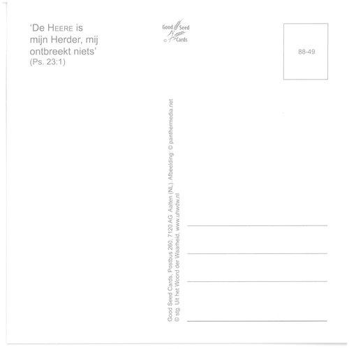 Enkelvoudige ansichtkaart 88-49