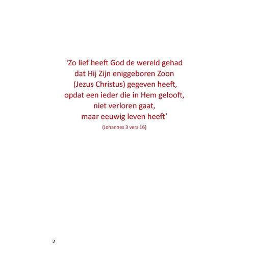Vrijheid en eeuwig leven A4 (Johannes evangelie)