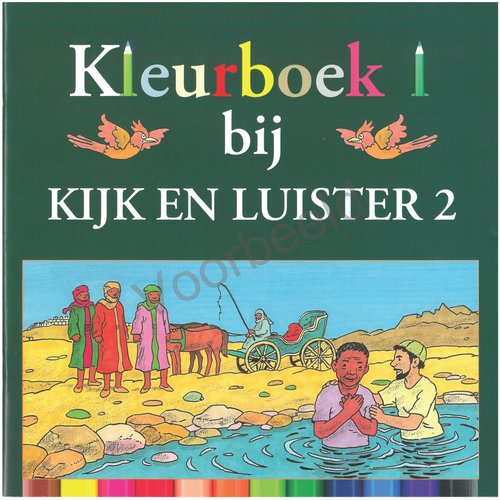 Kleurboek kijk en luister deel 2