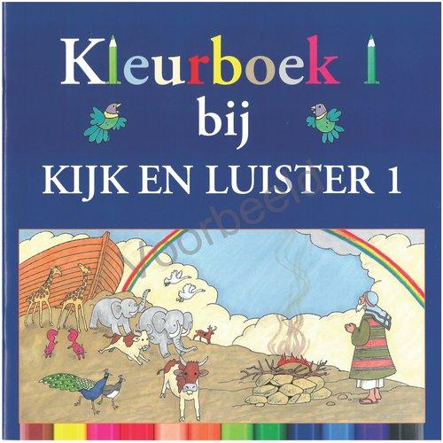 Kleurboek kijk en luister deel 1