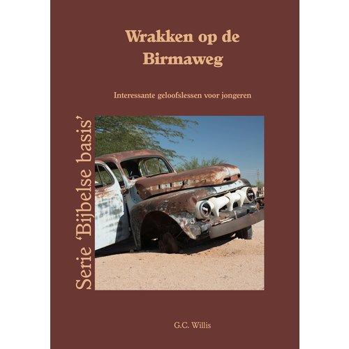 Wrakken op de Birmaweg