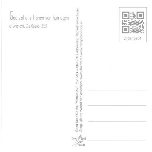 Vierkante luxe ansichtkaart 84-08