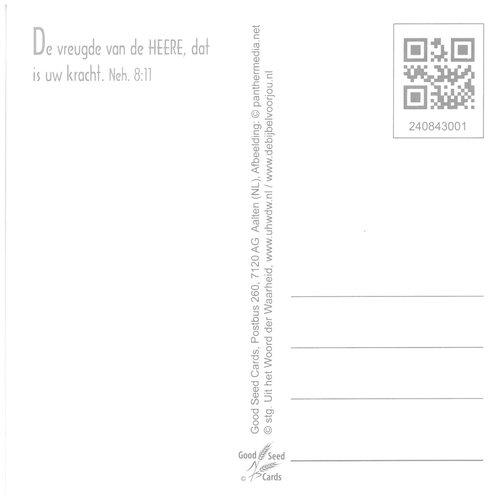 Vierkante luxe ansichtkaart 84-30