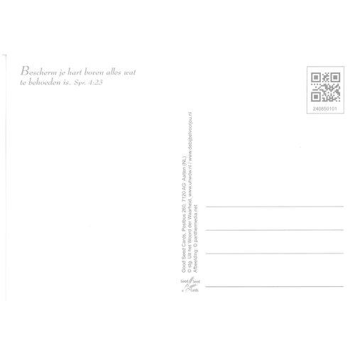 Enkelvoudige ansichtkaart 85-01